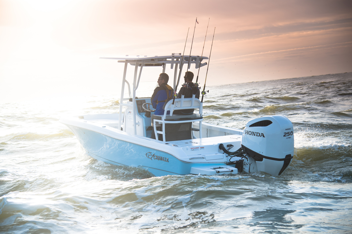 Honda marine unveils improved bf200 bf225 and bf250 v6 for New honda boat motors