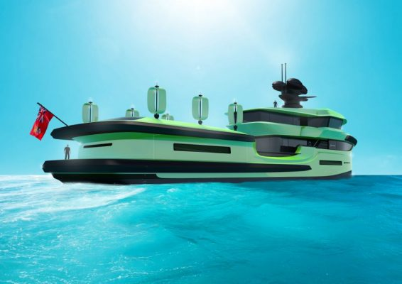 Green Expedition: The 65m luxury eco yacht that can