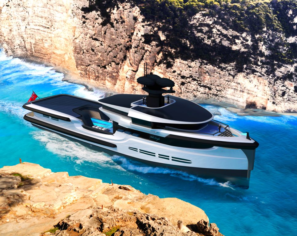 Green Expedition: The 65m luxury eco yacht that can seamlessly sail