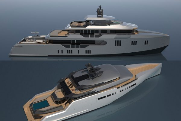 Misha Merzliakov Yacht Design Unveils Two Brand New