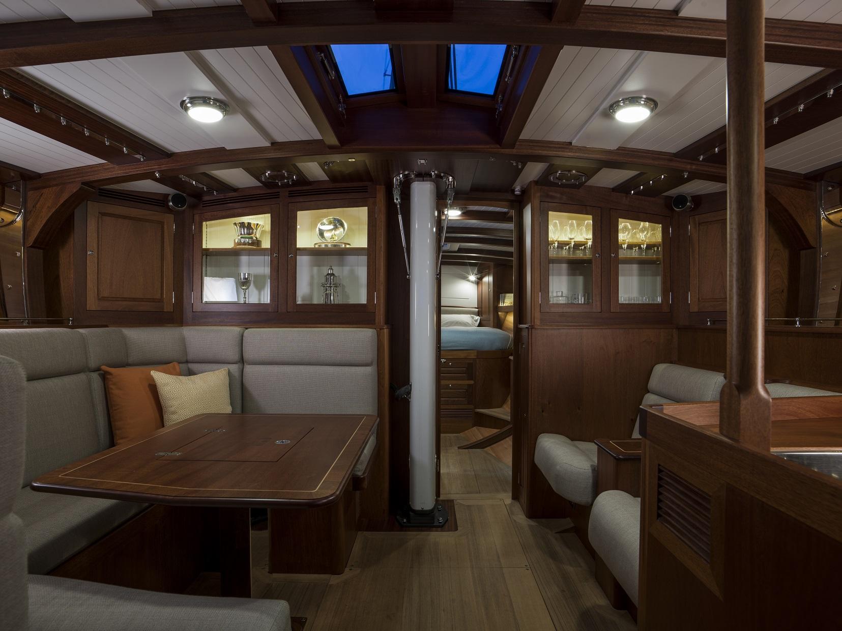 Spirit 63DH below deck