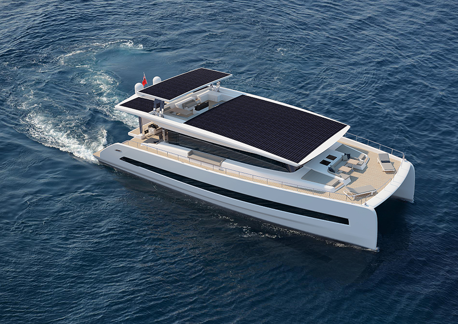 Silent Yachts Introduces Its Largest Solar Powered