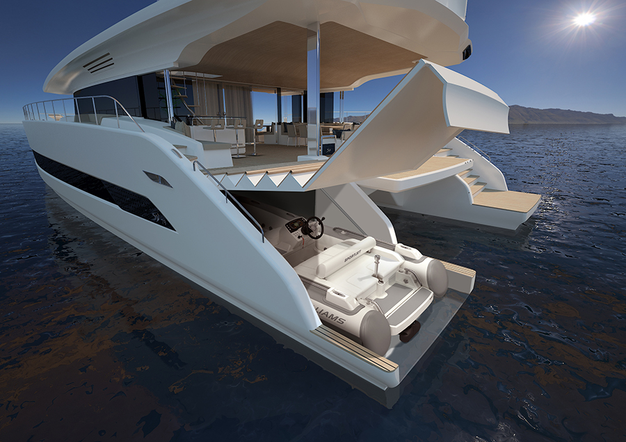 Silent Yachts Introduces Its Largest Solar Powered Catamaran Silent