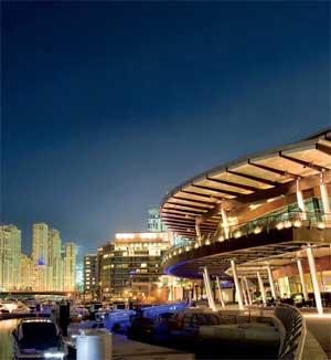 Luxury complex opens in dubai for Luxury hotels in dubai marina