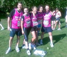 Brokers Run London Marathon