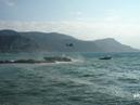 Superyacht crash photos