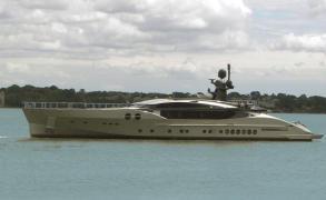 First Palmer Johnson superyacht built in Hythe