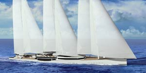 World record 100m sailing design announced at Monaco