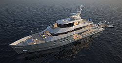 Aquos Yachts reveals design for 50m superyacht