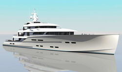 Christopher Seymour reveals 96m superyacht concept Sunset Heaven