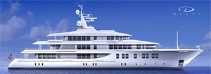 Dazzling new motor yacht from design team at Delta