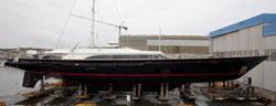 Perini Navi launches new luxury superyacht 'Fidelis'