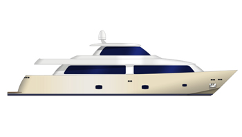 Aegean Yachts begin construction of two hulls for new 28m superyachts