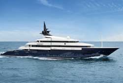 Oceano presenting latest delivery at 2011 Monaco Yacht Show