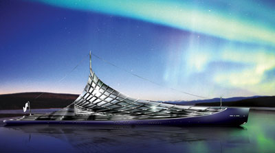 Dramatic superyacht concept revealed