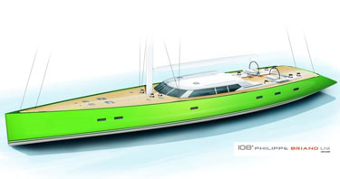 Vitters Shipyard reveals new sloop designed by Philippe Briand.