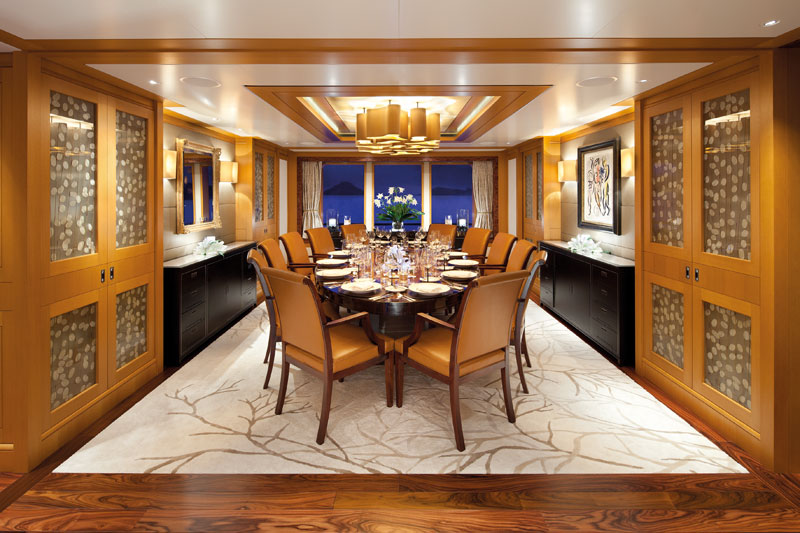 Main deck dining salon
