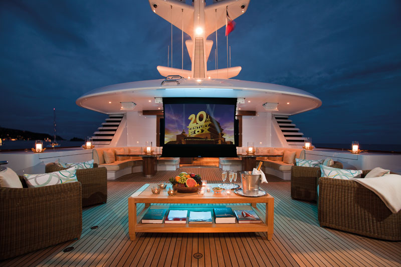 Sun deck cinema