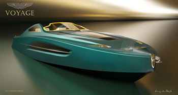Aston Martin superyacht concept unveiled