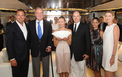 MY Satori wins two World Yacht Trophies in Cannes