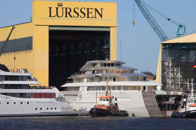 World's largest superyacht breaks cover