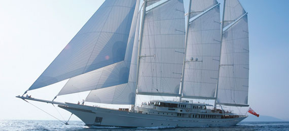 Superyacht Athena is on the market for $