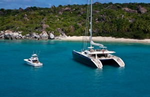 Hemisphere world's largest sailing catamaran