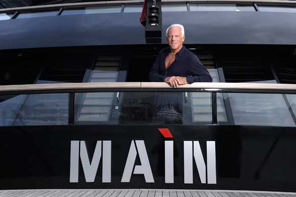 Exclusive Interview Armani On Board