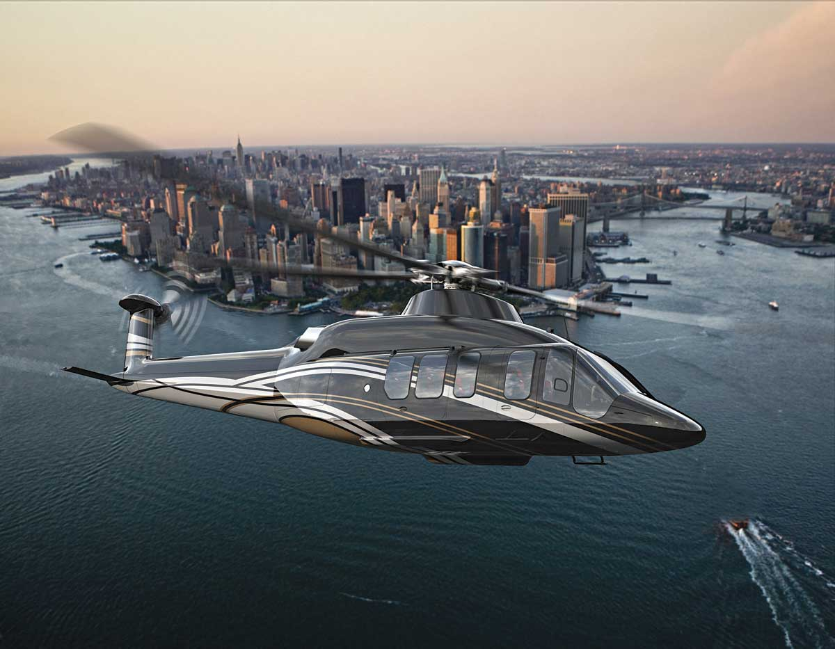 Best Helicopters For Superyachts