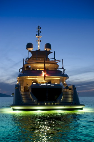Superyacht Belle Anna's debut season
