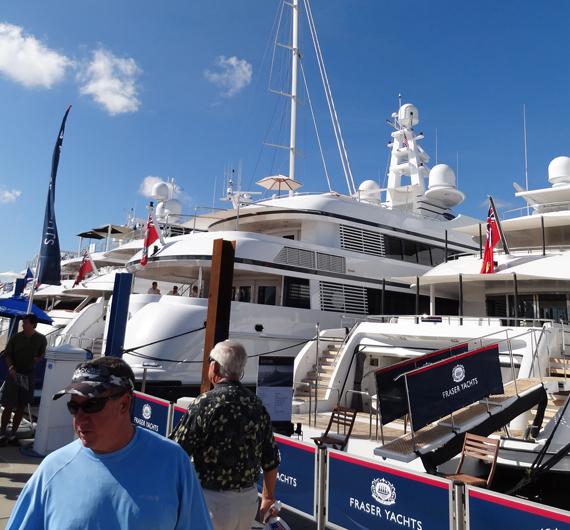 fuerte lauderdale fort lauderdale international boat show: