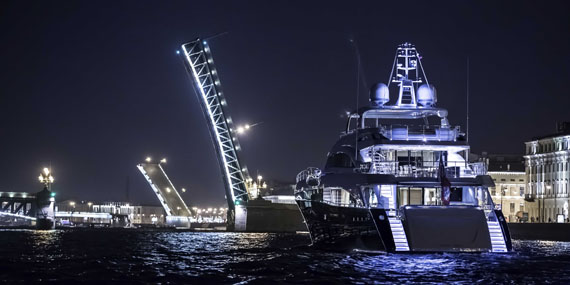 Second Princess 40M delivered to St Petersburg - Superyacht