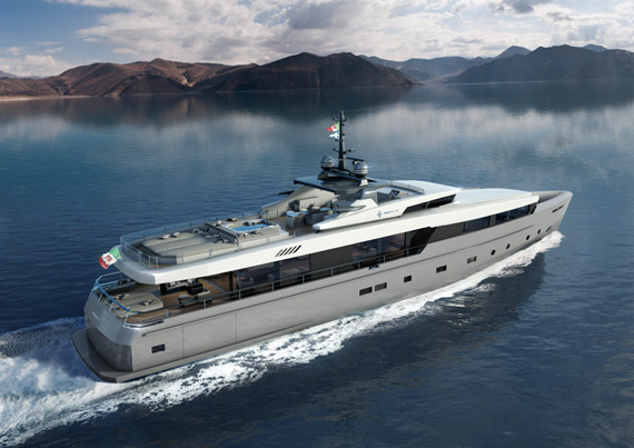 Admiral lines up five superyachts for the summer for Prezzo yacht 50 metri