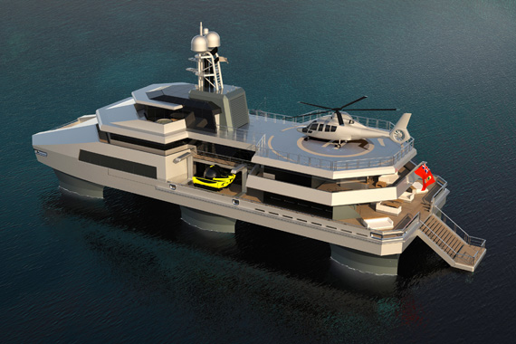 Is SWATH the future of superyachts?