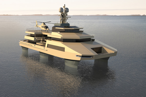 Is Swath The Future Of Superyachts