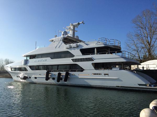 Christensen launches Missing Link - Superyacht World