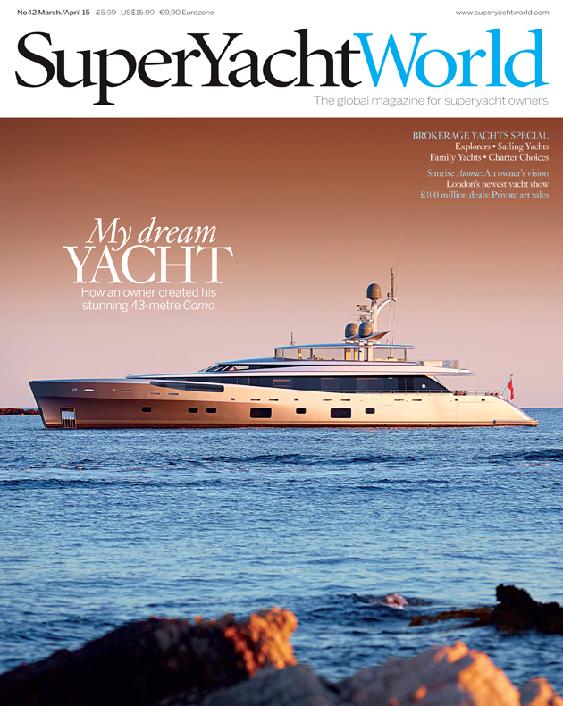 SuperYacht World issue 42 cover