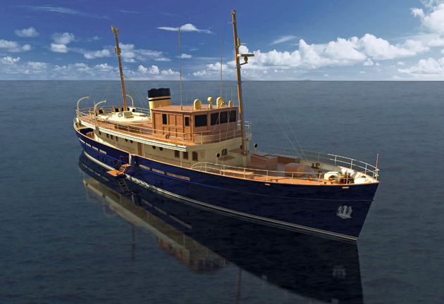 rossinavi prepares taransay for launch superyacht world. Black Bedroom Furniture Sets. Home Design Ideas