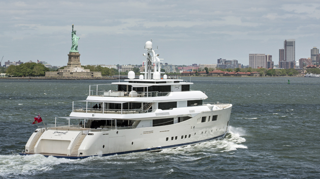 Grace E Arrives In New York Superyacht World