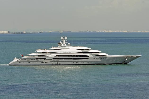 Fincantieri's 140-metre Ocean Victory