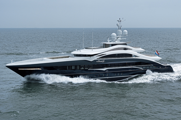 Heesen delivers the 50-metre Ann G