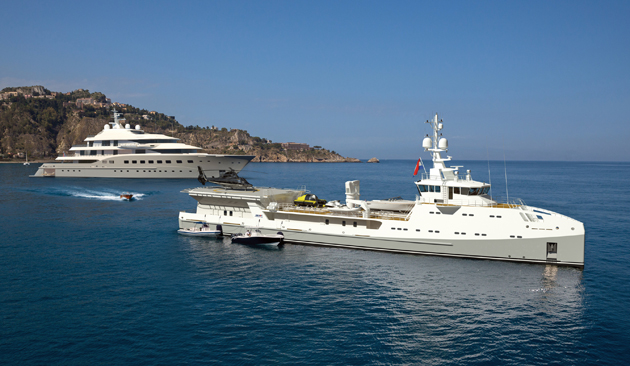 superyacht support vessel
