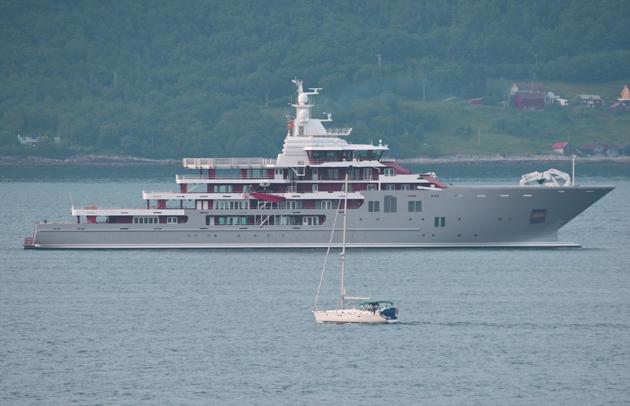 Kleven 107m Ulysses on sea trials - SuperYacht World