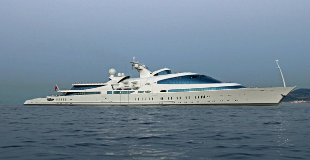 the amazing 141-metre Yas