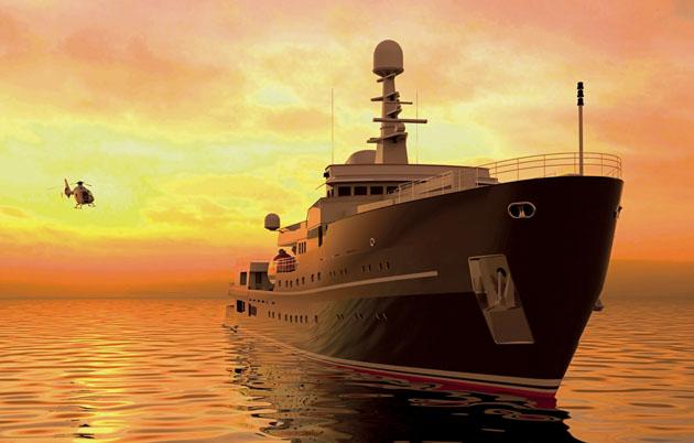 Icon Yachts refits Legend