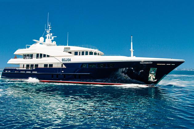 Beluga for charter