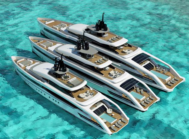 CRN's three-yacht Oceansport series