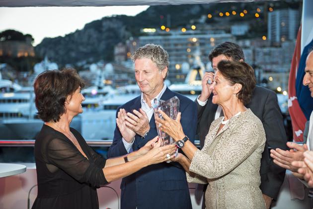 Francois Illas New Tradition: MV Yersin Wins Baccarat SuperYacht World Award 2015