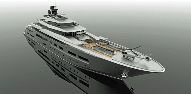 Zuccon unveils 94-metre Project Teti