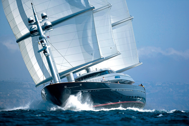 SuperYacht World Hall of Fame: Maltese Falcon - SuperYacht World